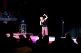 indigo eli performing 'Dam Betulim', Sydney Opera House, third place winner Australian Poetry Slam 2009, photo: unknown