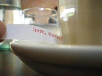 poetic fortune, Australian Poetry Cafe Poet Residency