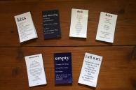 poetry magnets indigo eli 7 designs