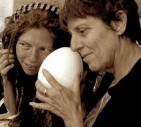 sound egg, indigo eli: a process in development, a development in process, 2012, photo: royce kurmelovs