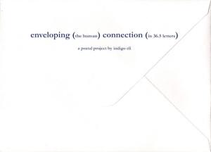 enveloping connection project indigo eli