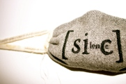 blanket silence (detail), indigo eli