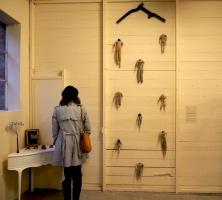 threads of industry artworks, indigo eli