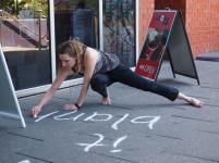 indigo eli public chalk writing spoke festival 2012