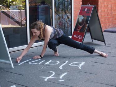 the nameless project installation, Spoke Festival